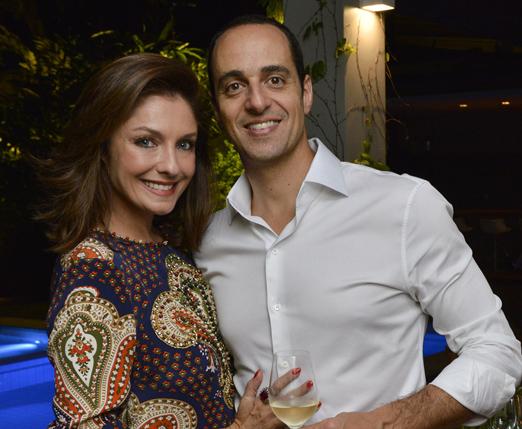 Camila Guebur e Eduardo Maluf