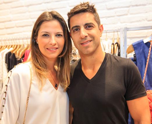 Carolina e Gustavo Khadur