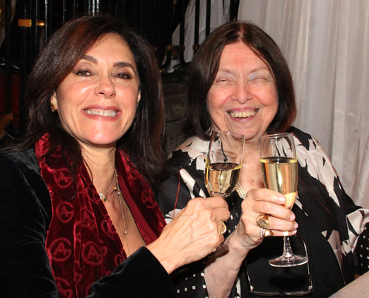 Christiane Torloni e Nélida Piñon