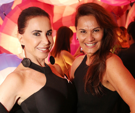 Claudia Alencar e Magda Cotrofe