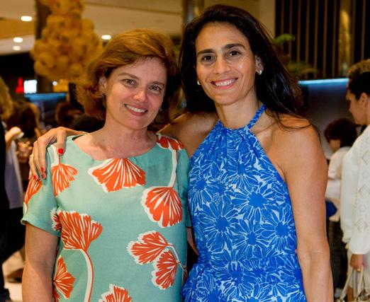 Claudia Castro Barbosa e Malu Vieira