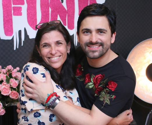 Claudia Saraceni e Anderson Thives