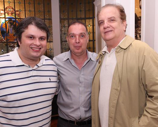 Claudio André de Castro, Bayard de Boiteux e Rawlson de Thuin