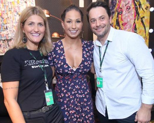 Cristina de Nadai, Valesca Popozuda e Jorge Belotto