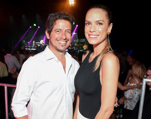 Dado Ribeiro e Ligia Mendes