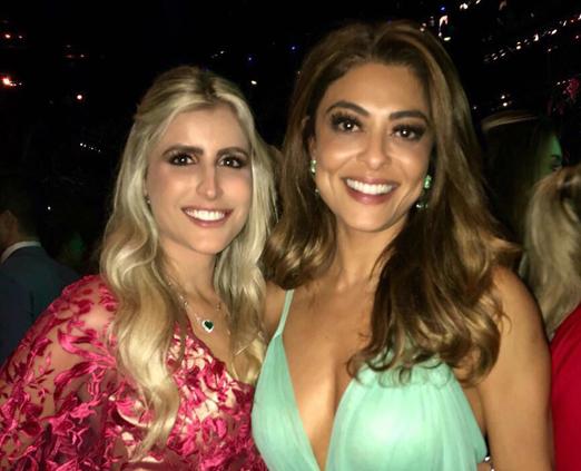 Dandynha Barbosa e Juliana Paes