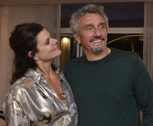 Daniela Cutait e Emmanuel Bassoleil