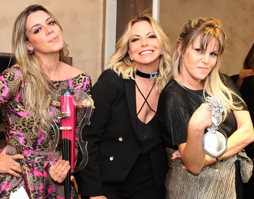 Diana Mazza, Nina Kauffmann e DJ Scarlet