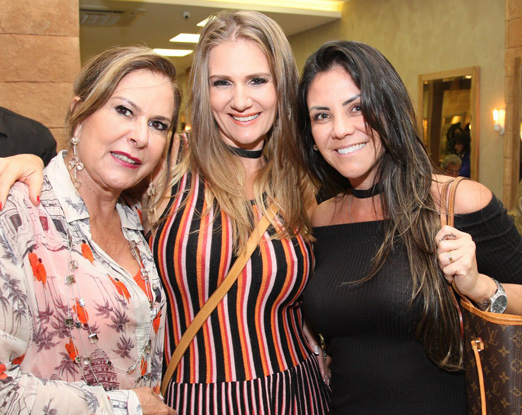Dirce Motta, Michele de Sender e Deborah Miho