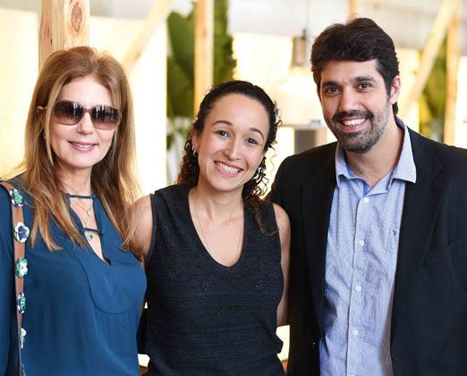 Eliana Pazzini, Dani Parreira e Leonardo Pazzini
