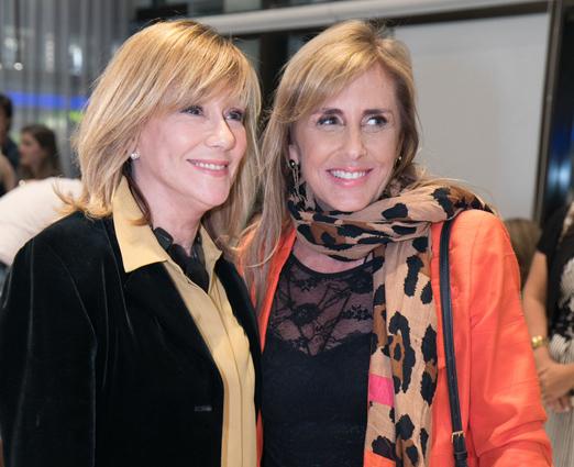 Eva Taquechel e Patricia Hall