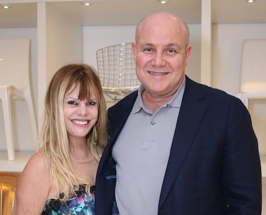 Fatima Esteves e Paulo Muller