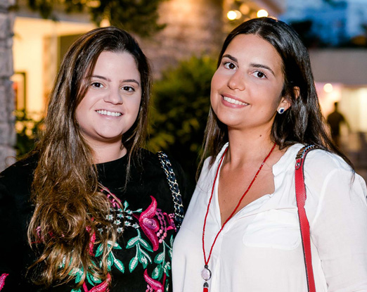 Fernanda Grimberg e Carolina Góes