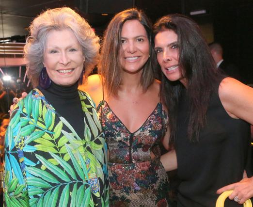 Gisella Amaral, Carol Sampaio e Patricia Brandão