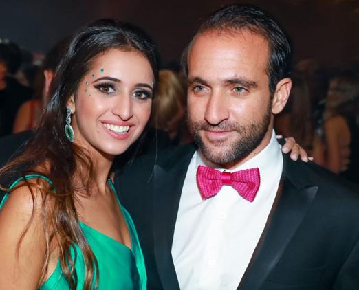 Grace Arkalji e Daniel Nasser