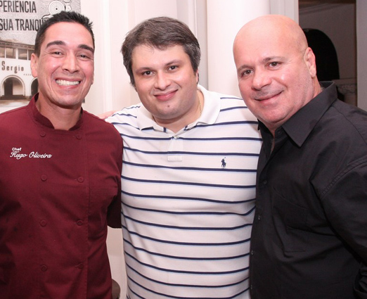Hugo Oliveira, Claudio André de Castro e Eder Meneghine
