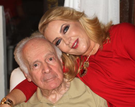 Isis e o marido Paulo Penido