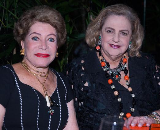 Ivanete Oliveira e Cristina Aboim