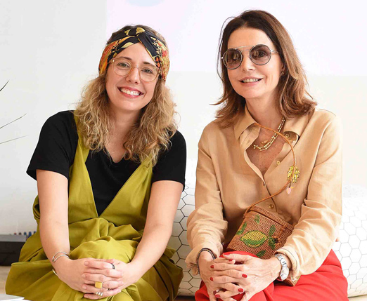 Iza Dezon e Patricia Mayer