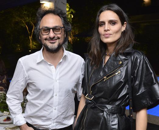 Jack Vartanian e Cassia Ávila