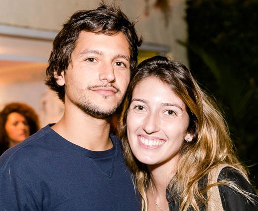 João Viegas e Bia Baroncini