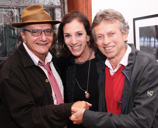 Jorge Salomão, Alicinha Silveira e Marco Rodrigues
