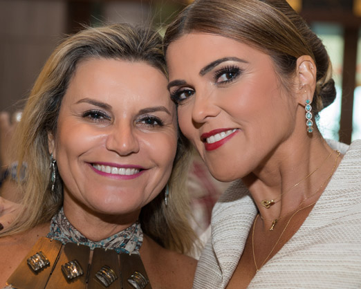 Karla Edde e Claudia Lobo