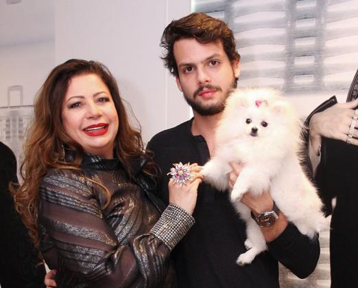 Kristhel Byancco, Newton Rique e a fofinha Ariel