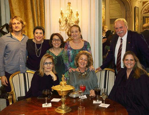 Leandro Bellini, Yacy Nunes, Carmen Mello, Beth Serpa, Fátima Martins, Margareth Padilha, Maninha Barbosa e Aurélio Wander