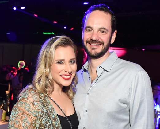 Lethicia Bronstein e Fred Pompeu