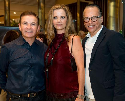 Luciano Negreiros, Priscila Bentes e Heckel Verri