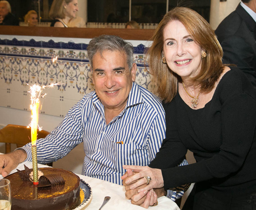 Luis Villarino e Nelma Canelas