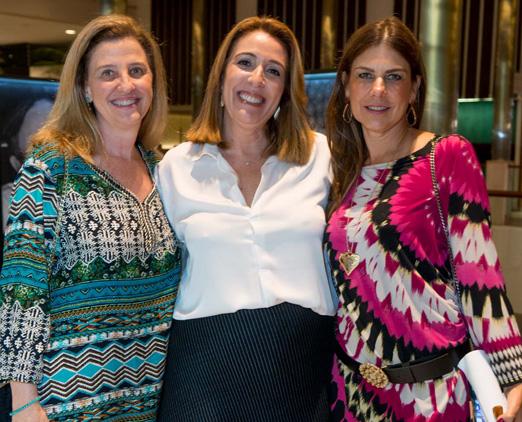 Luiza Tostes, Kiki Gouvea e Tininha Tostes