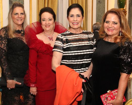 Maninha Barbosa, Beth Serpa, Regina Marcondes Ferraz e Renata Fraga