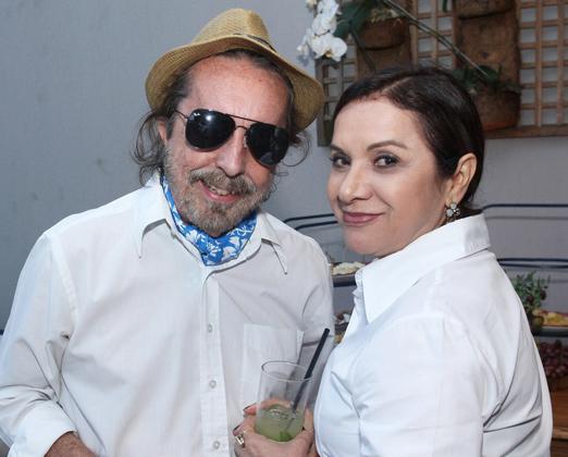 Marcello Borges e Sueli Bombiere