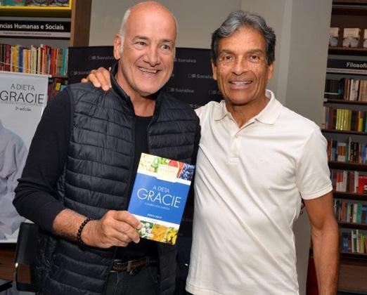 Marcelo Itagiba e Rorion Gracie