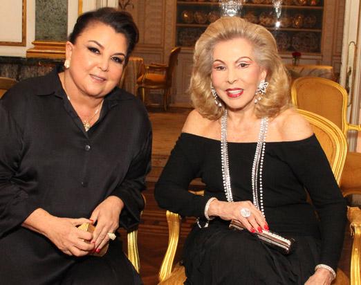 Maria Clara Tapajós e Mariza Coser
