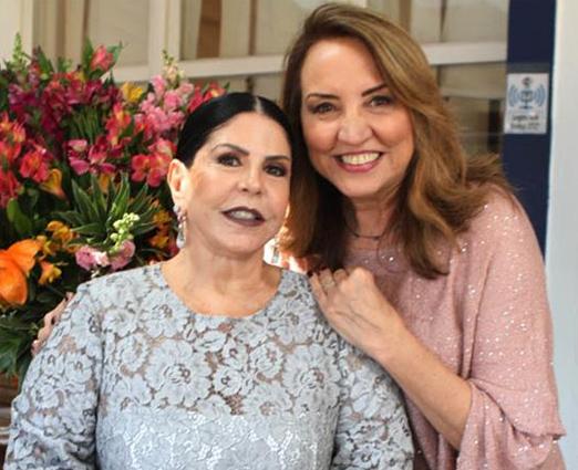 Marilene Gomes de Mattos com a aniversariante