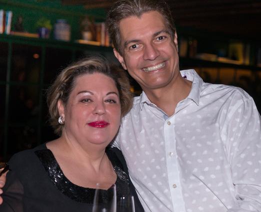 Melania Varola e Gilson Araujo