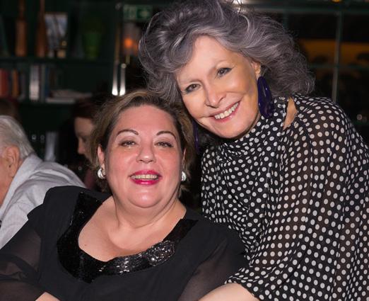 Melania Varola e Gisela Amaral