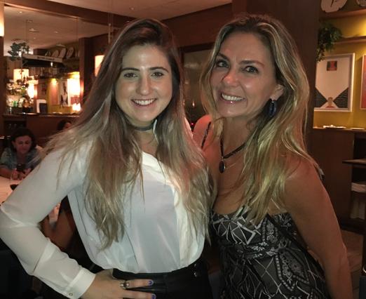 Mica Condé e Márcia Veríssimo