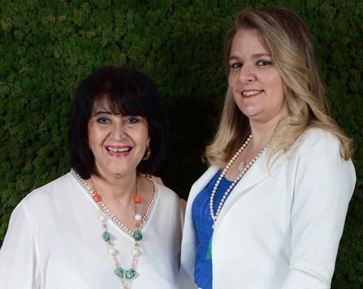 Micheline Thomé e Claudia Jannuzzi