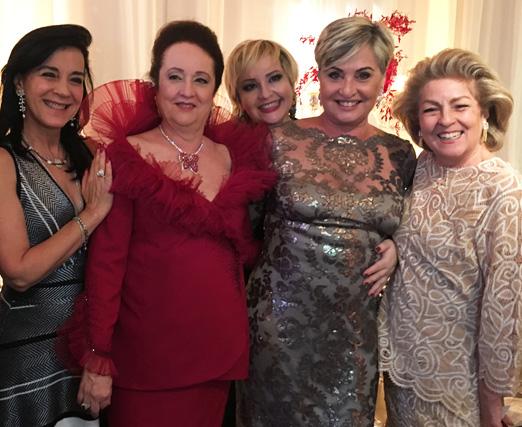 Monica Clark, Beth Serpa, Gottsha, Paula Almeida e Margareth Padilha
