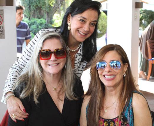Monica Clark, Maninha Barbosa e Alice Tamborindeguy