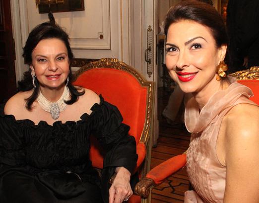 Monica Faria e Mylene Peltier