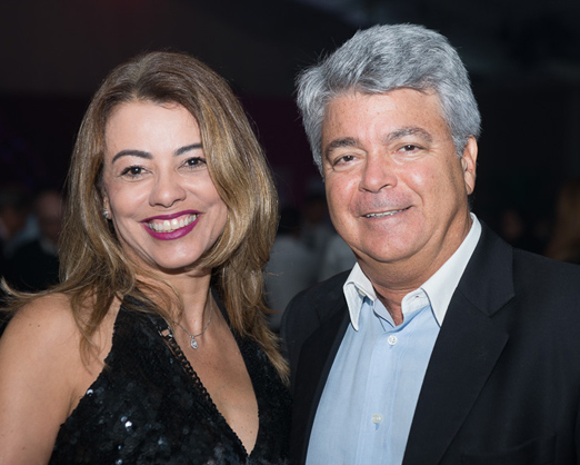 Paloma Perdigão e André Hazan