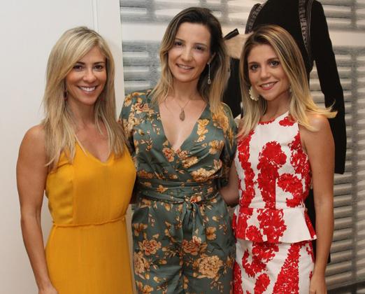 Paola Trindade, Tatiana Máximo e Paula Bedran