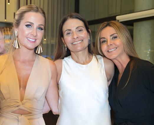 Paula Aziz, Vania Almeida e Lucinda Aziz