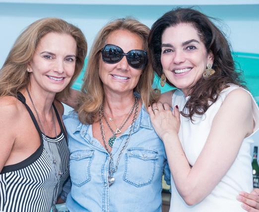 Paula Bergamin, Elisa Marcolini e Beth Accurso