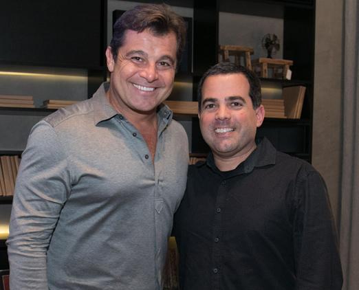 Paulo Bacchi e Duda Porto